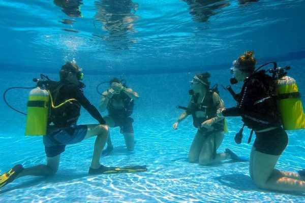Dive Course Pool Practice